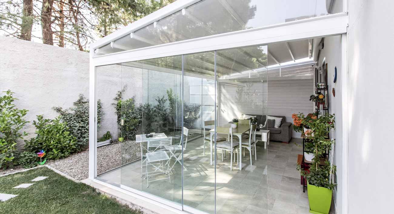 Giardini Per Case Moderne giardini d'inverno | furnari tendaggi | brescia